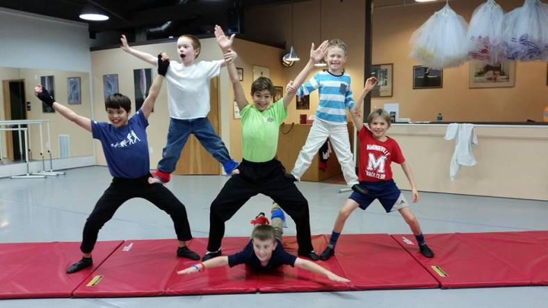 NEW!! Boys Movement Class on Mondays at 4:00 pm! (All Ages)