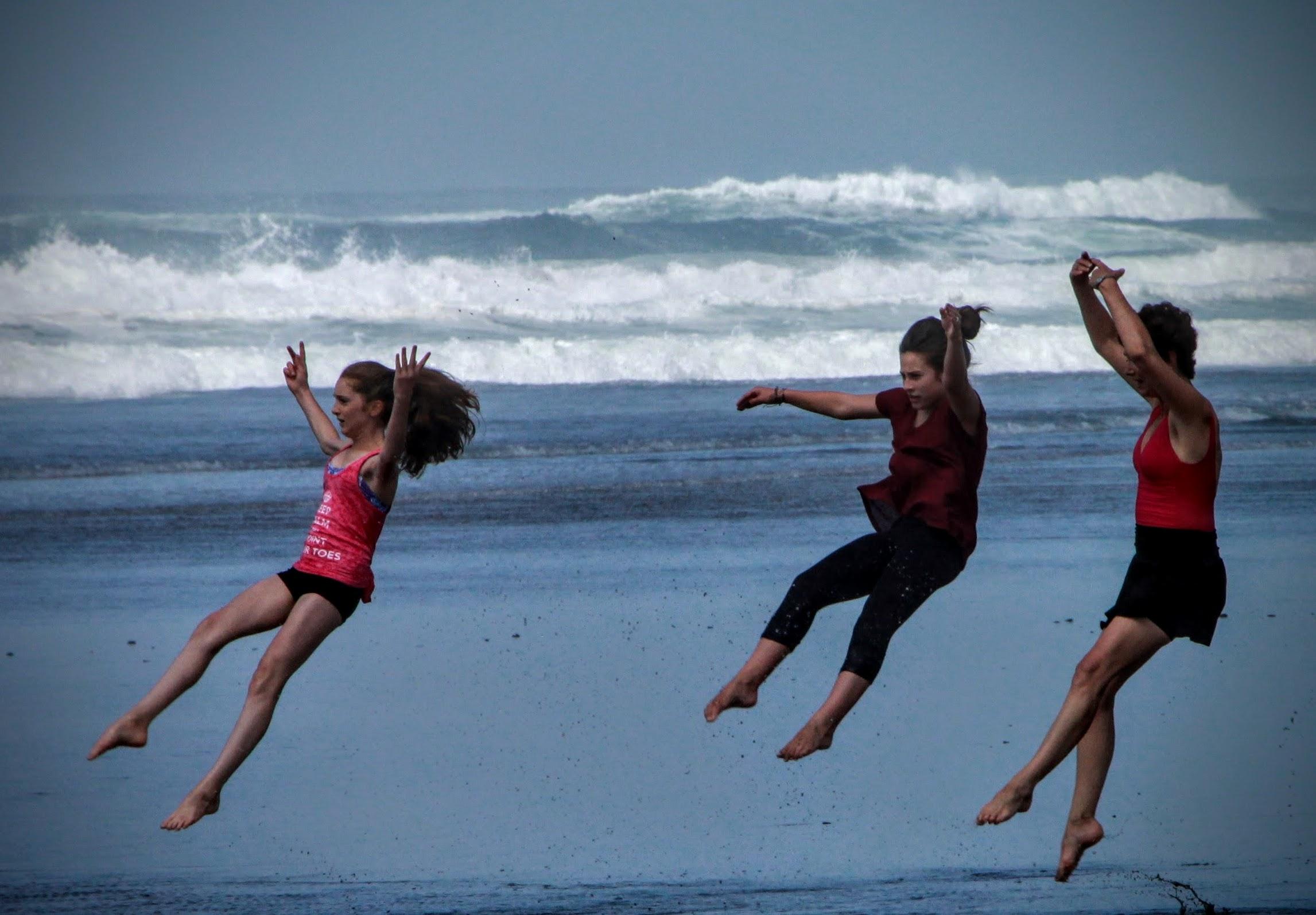 Ballet at the Beach!