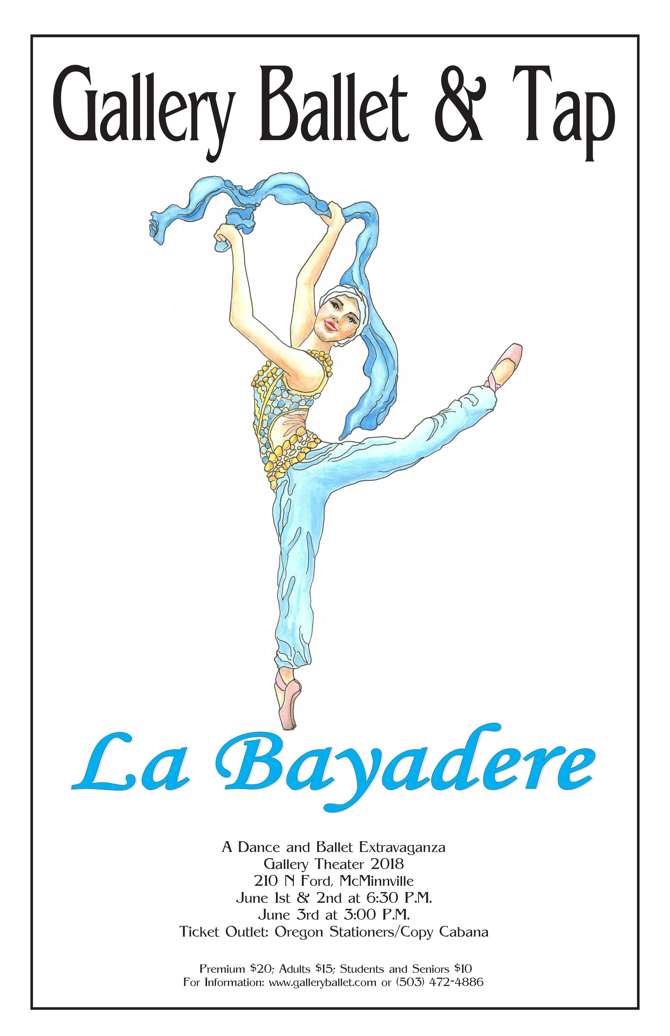 Our Spring Performance of La Bayadere