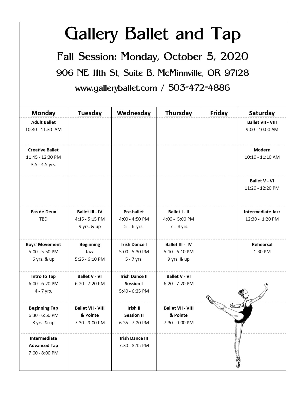 Fall Session 2020