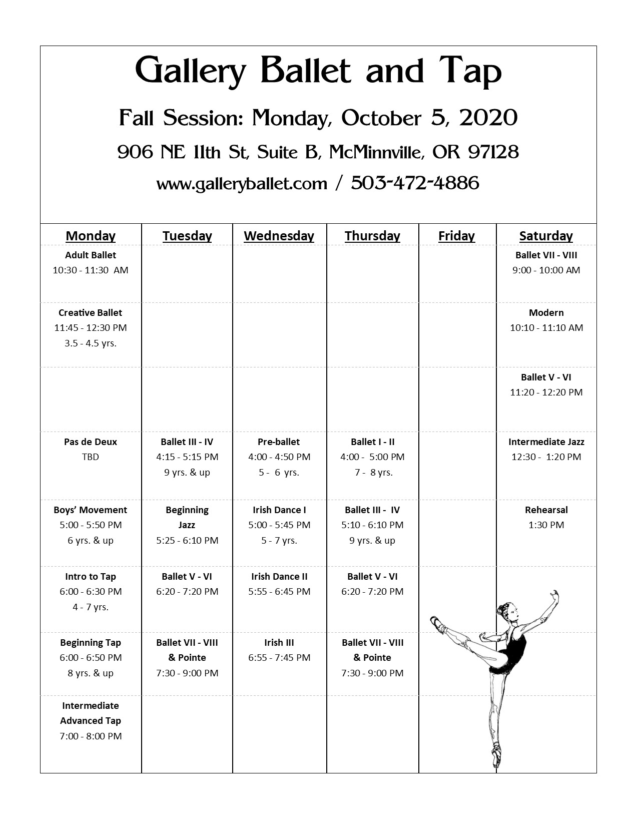 Fall Session 2020